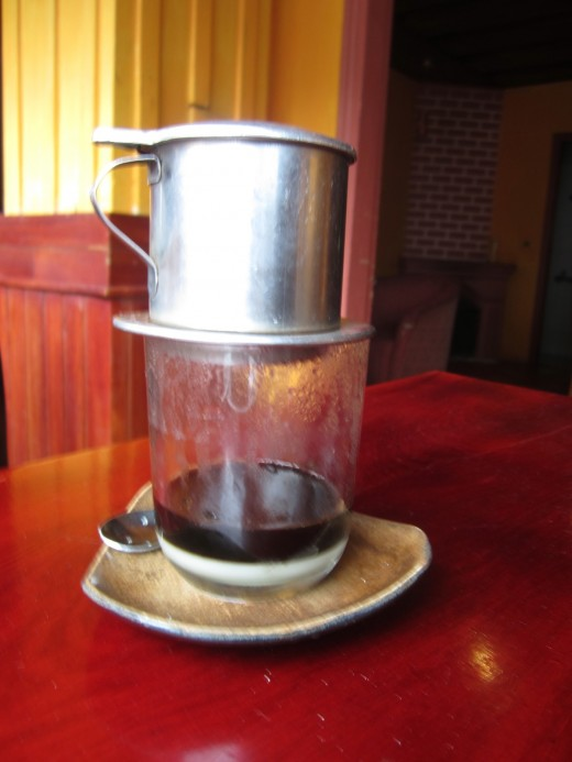 Vietnamese Style Coffee in Dalat