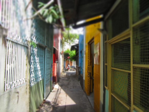 Saigon lanes and alleyways